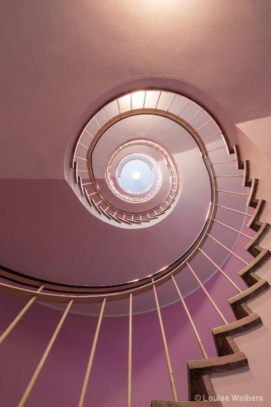 Pink Spiral 1