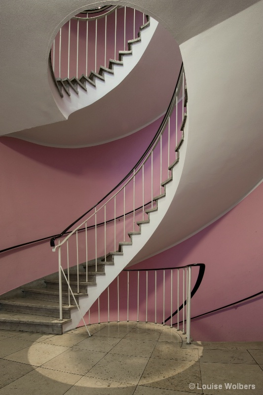 Pink Spiral 2