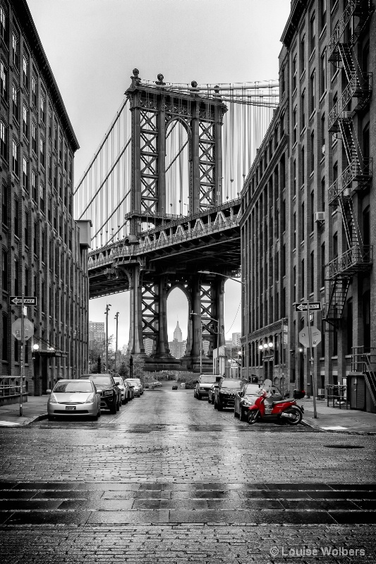 A Touch of Red In Manhattan II