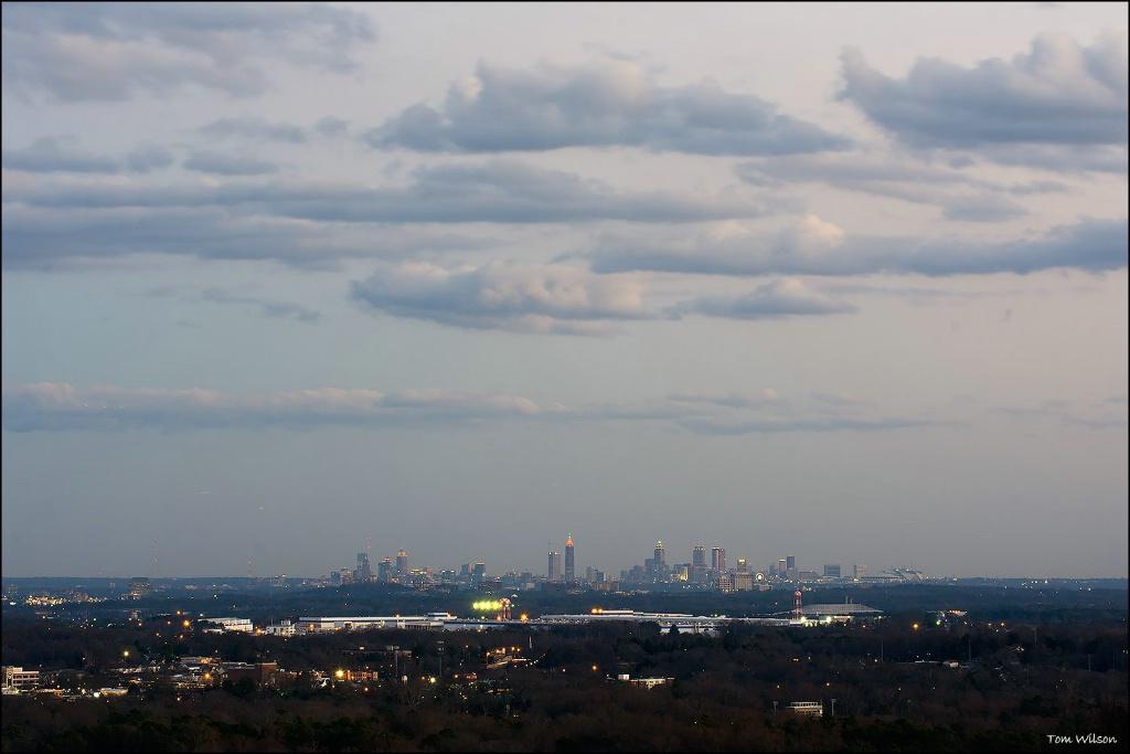 Atlanta from Kennesaw Mountain