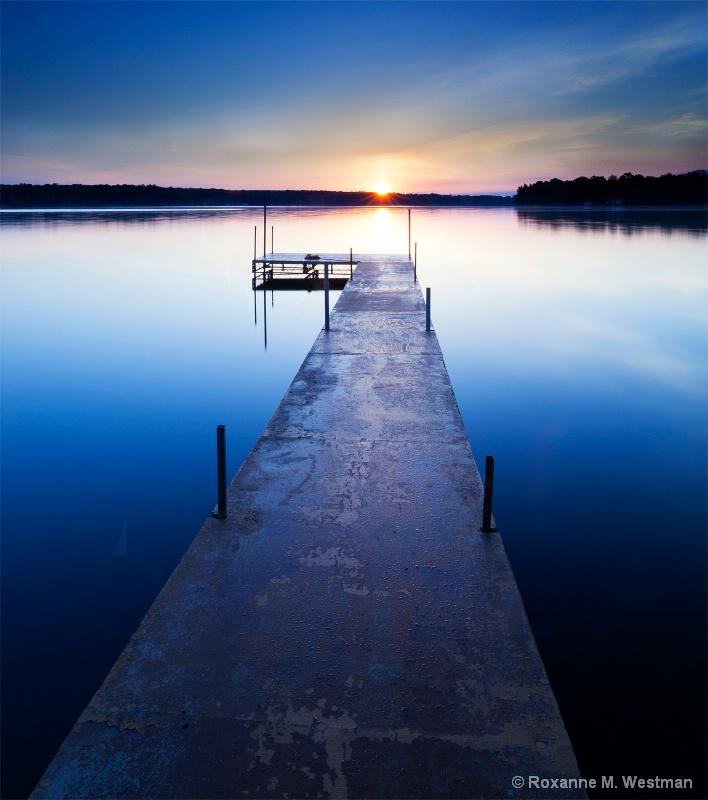 Calm sunrise morning
