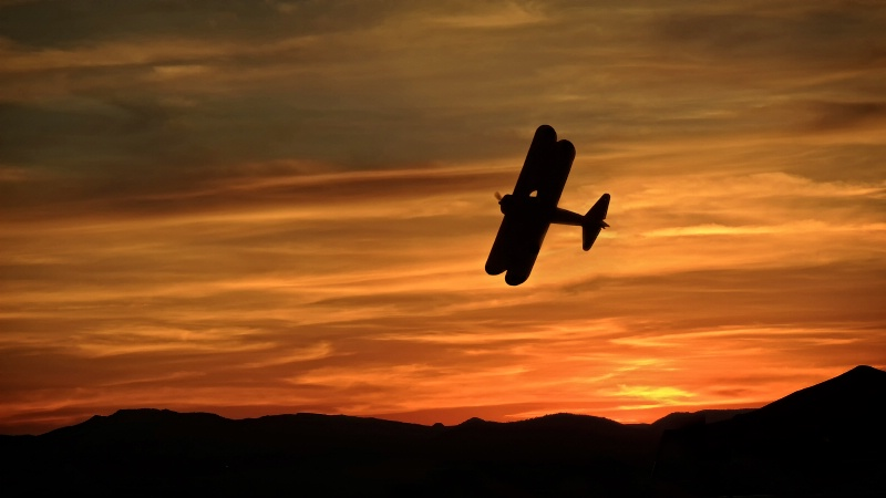 1941 Stearman Sunset