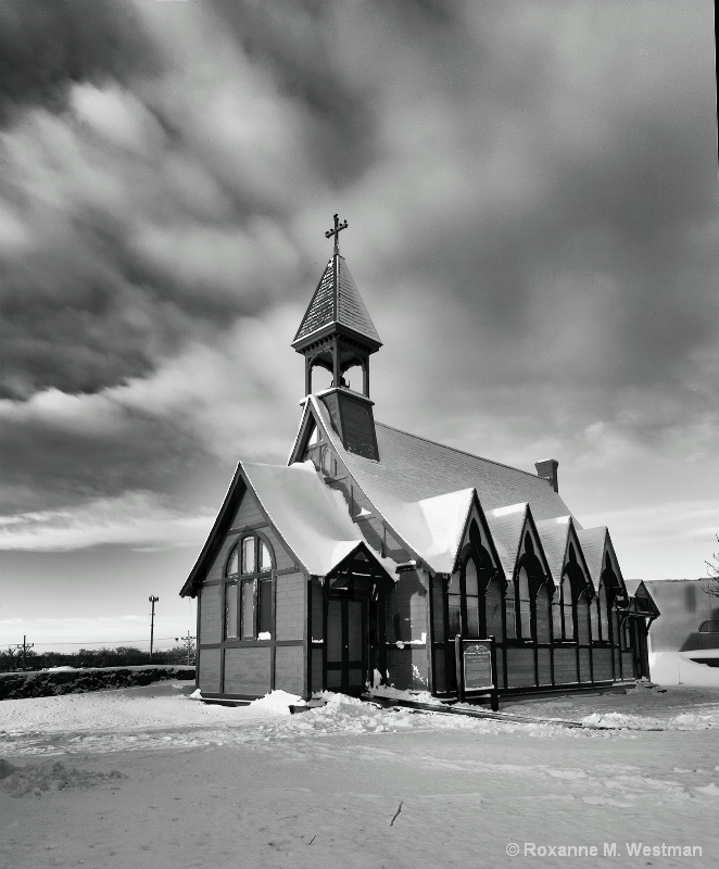 Ft. Hancock historical church