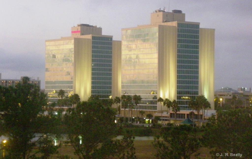 """""""Twin Towers"""" At Orlando Dawn"""