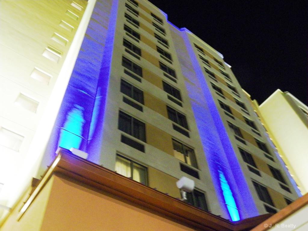 Hotel Ablaze Blue