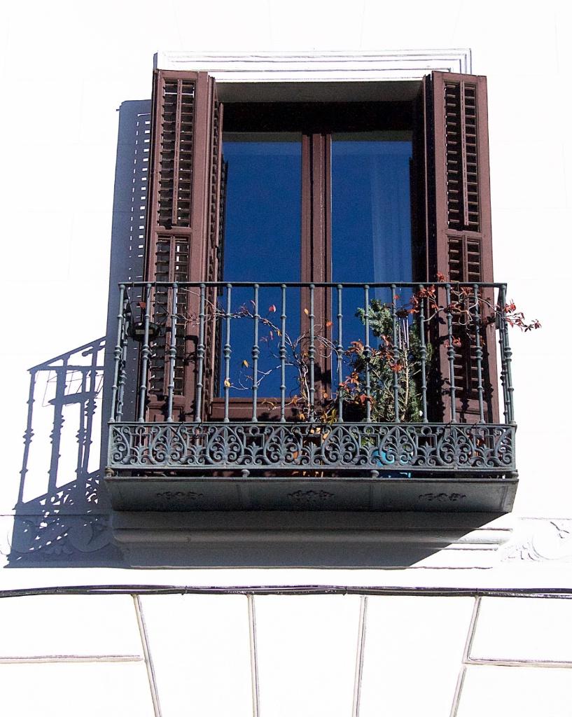 Madrid Balcony with shadows