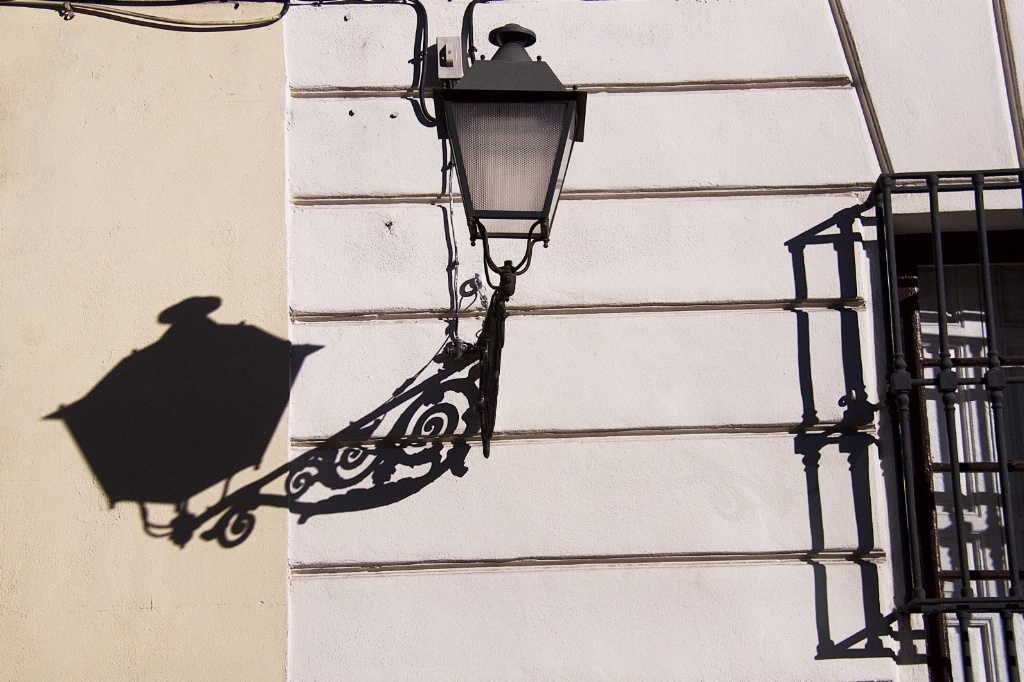 Lampost and its Shadow
