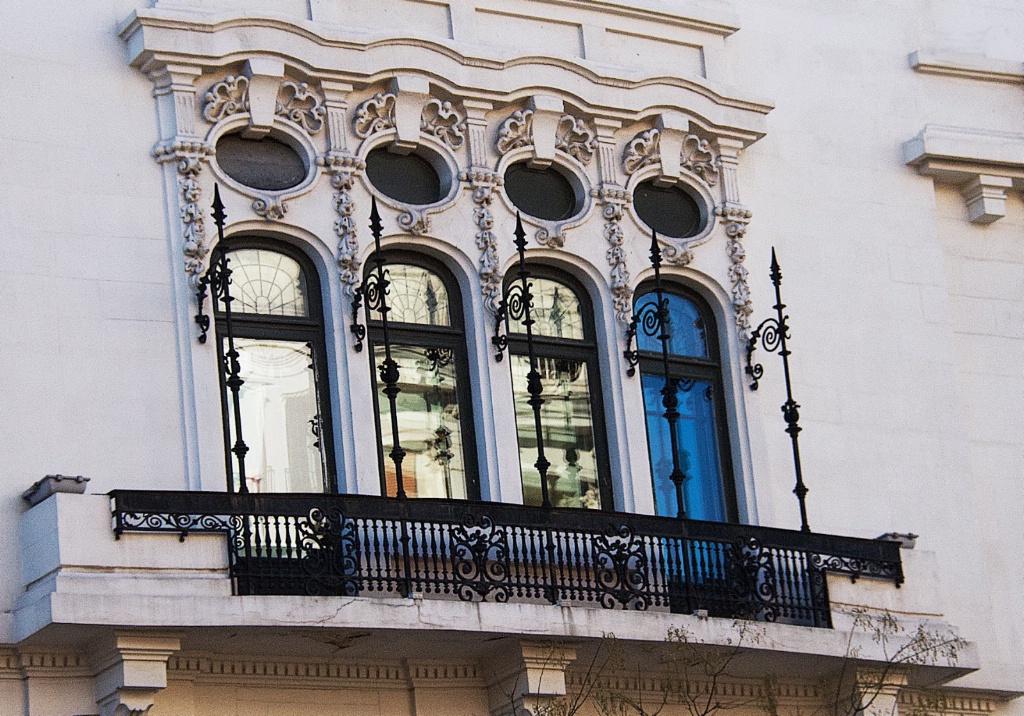 Classic Madrid Balcony