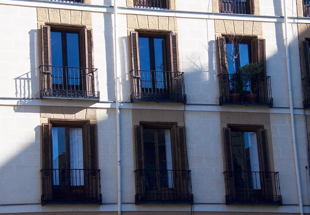 Balconies in Madrid