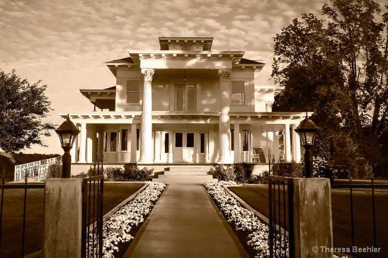Welcome Walk - In Sepia