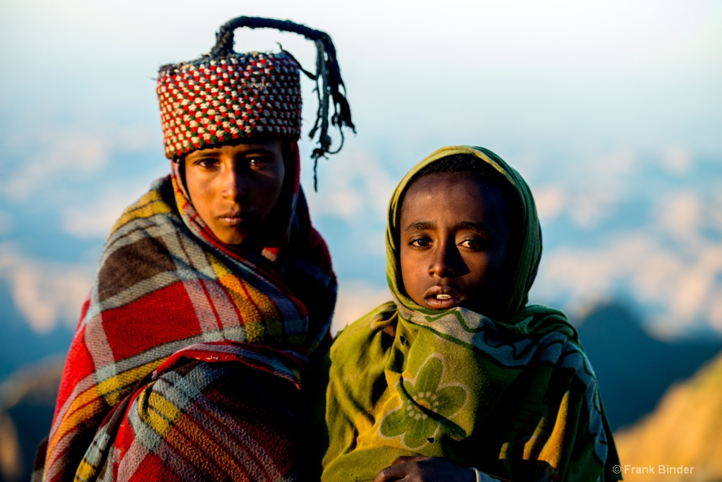 Ethiopian Mountain boys