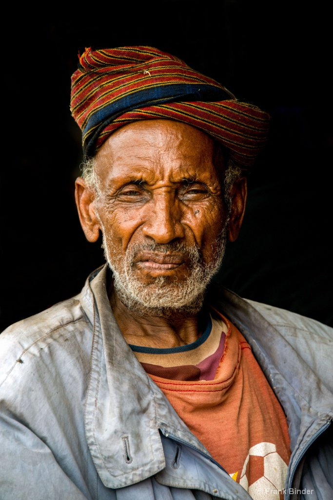 Ethiopian Man on the Street