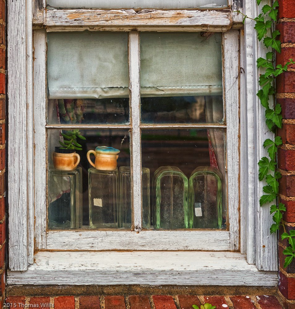 Antique Shop Window