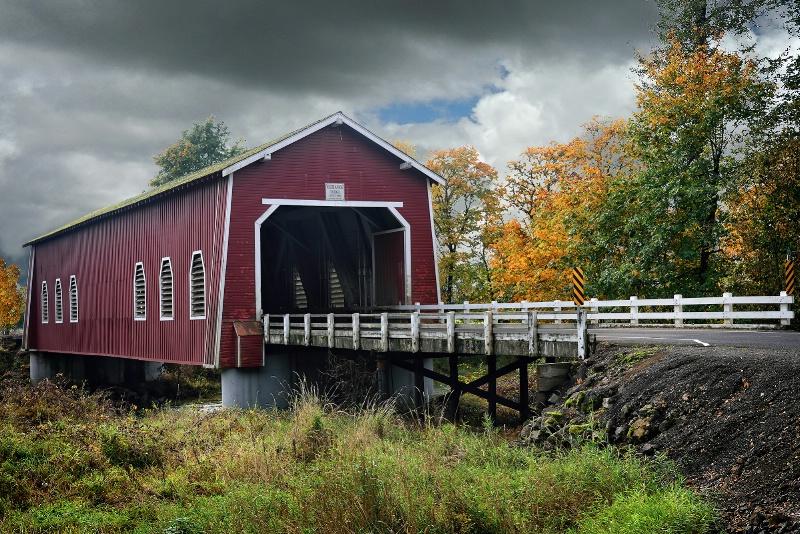 Shimanek Covered Bridge