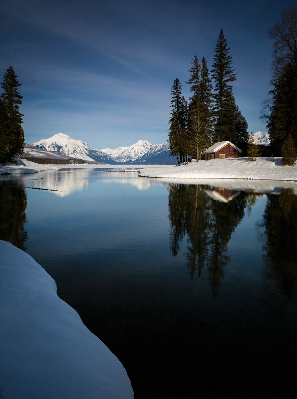 McDonald Creek Reflections
