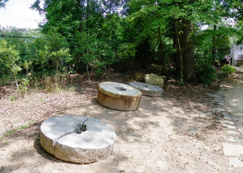 Mill Grinding Stones Graveyard