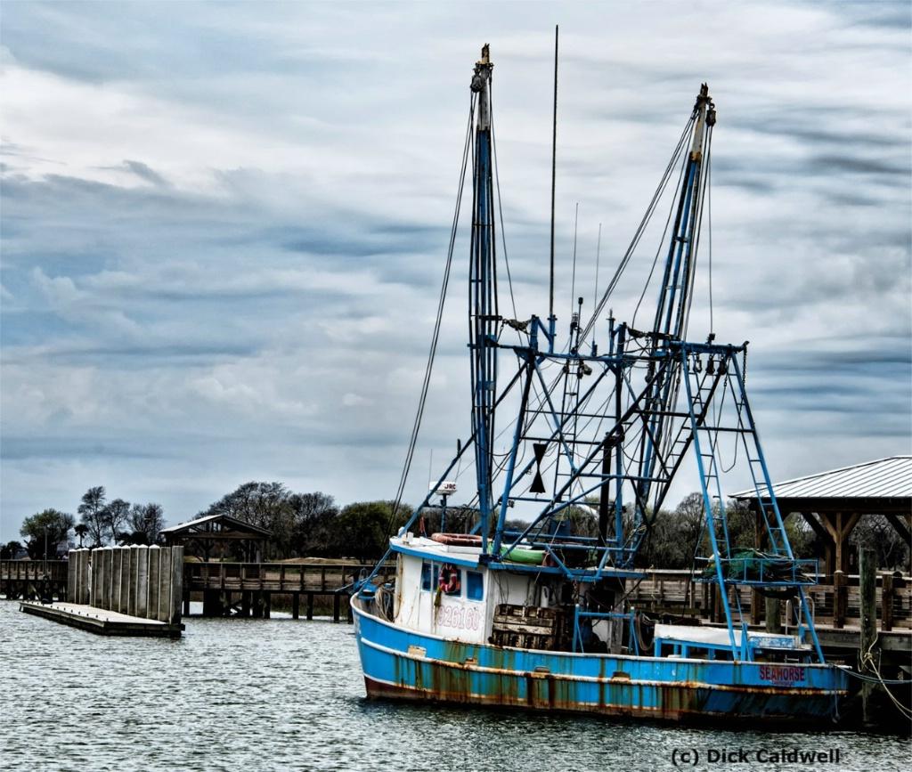 Charleston shrimp boat. Image: Dick Caldwell