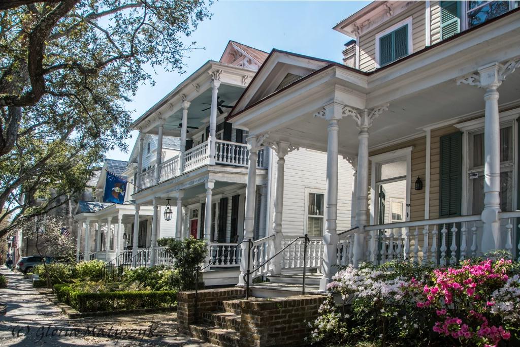 Charleston old residences