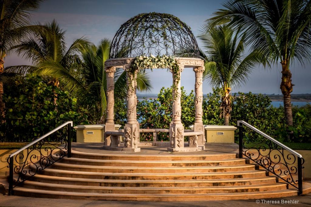 Wedding Gazebo - Emerald Bay, Mazatlan MX
