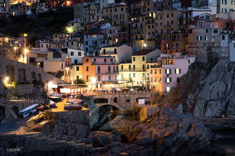 Vernazza Blue Hour