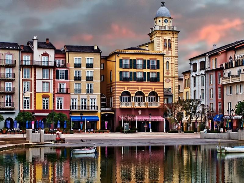 Portofino Orlando Sunset