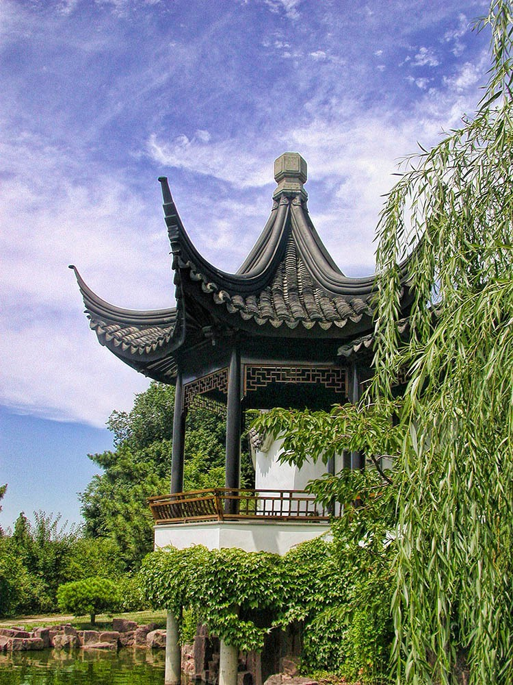 At the Chinese Scholar's Garden