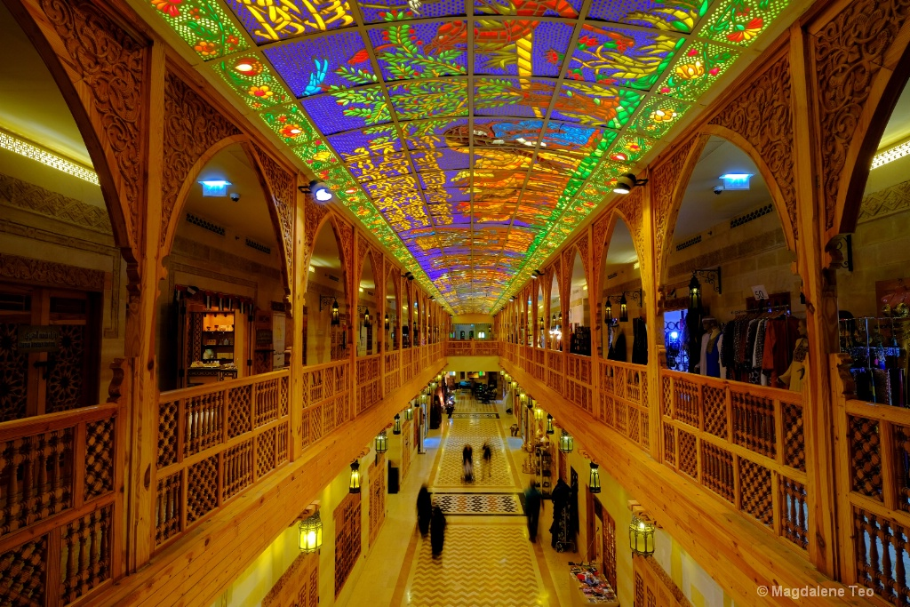 Beautiful Wafi Mall in Dubai
