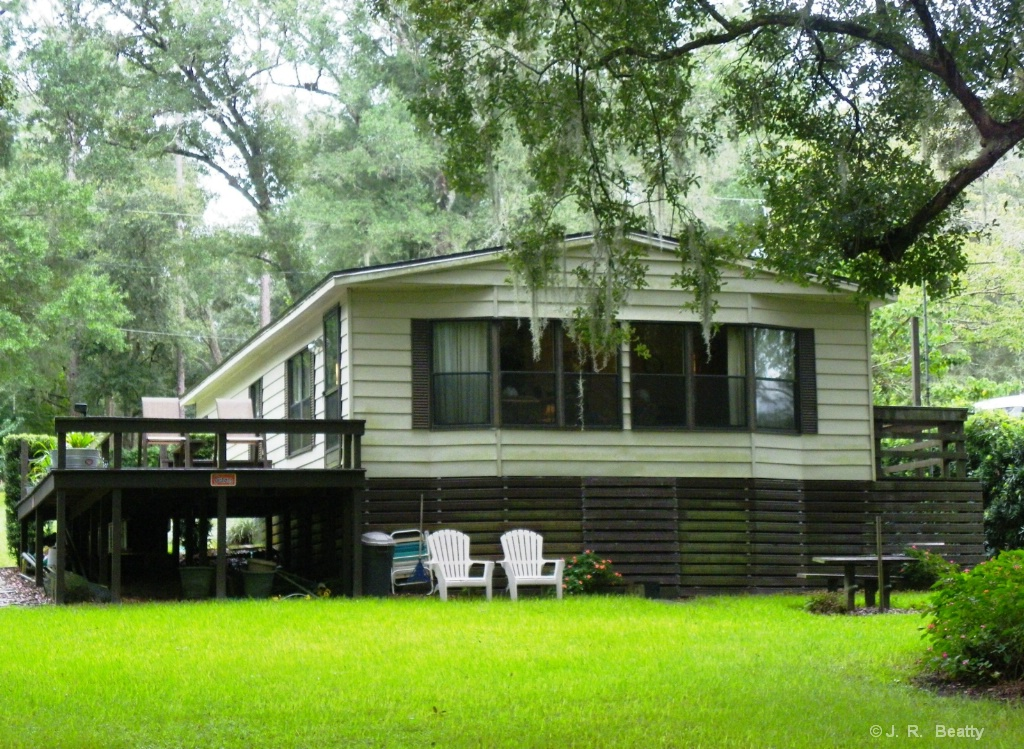 """""""Up At The River"""" Double-Wide Trailer Home"""