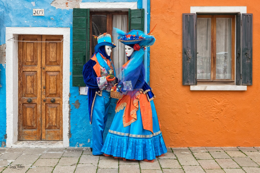 Colourful Venetians