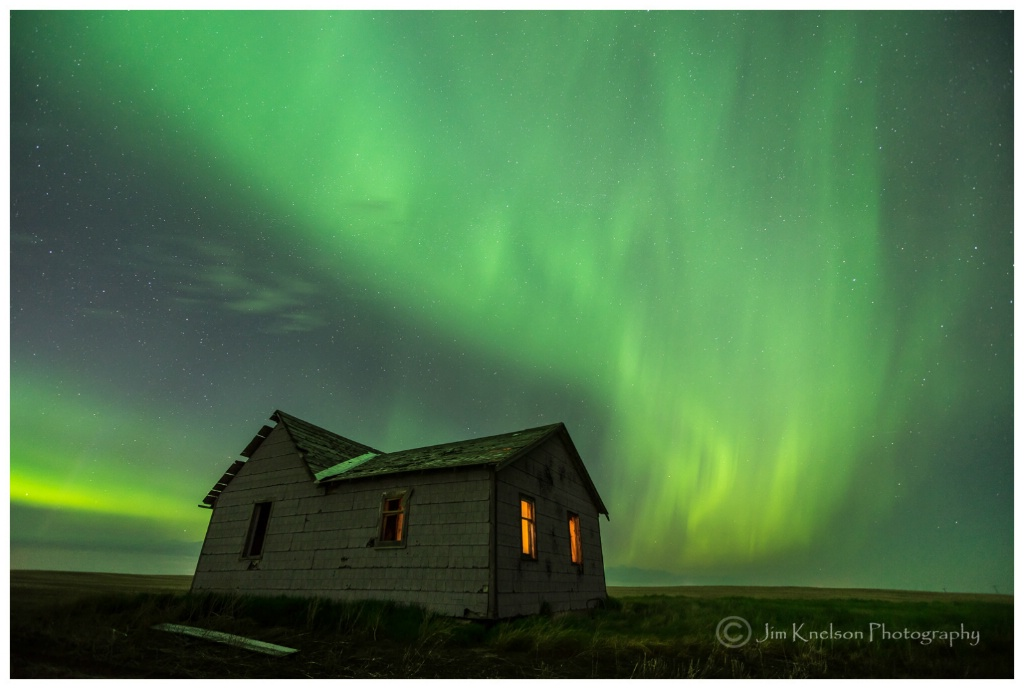 Prairie Aurora, Southern Alberta May 28th 2017