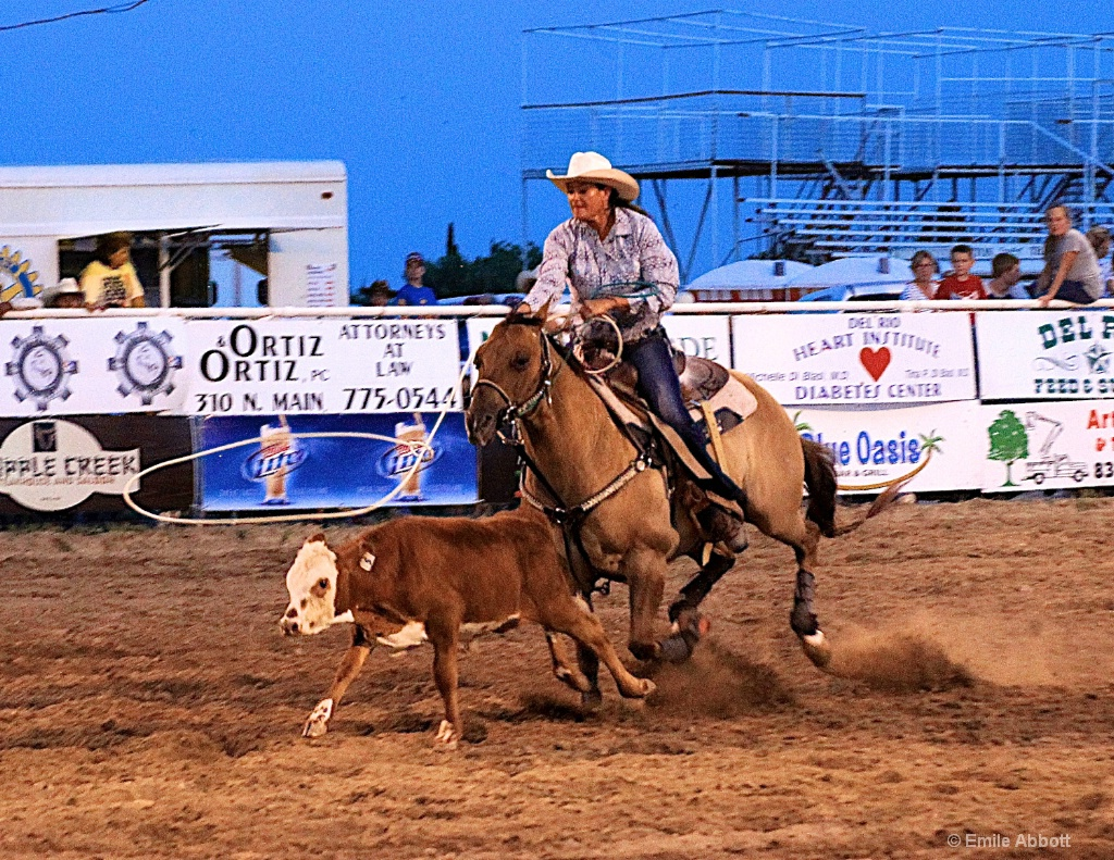 Ladies Calf Roping