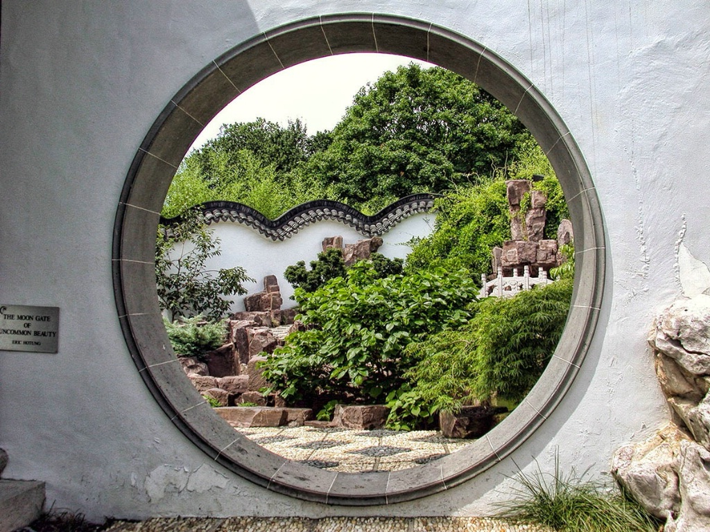 The Moon Gate Of Uncommon Beauty