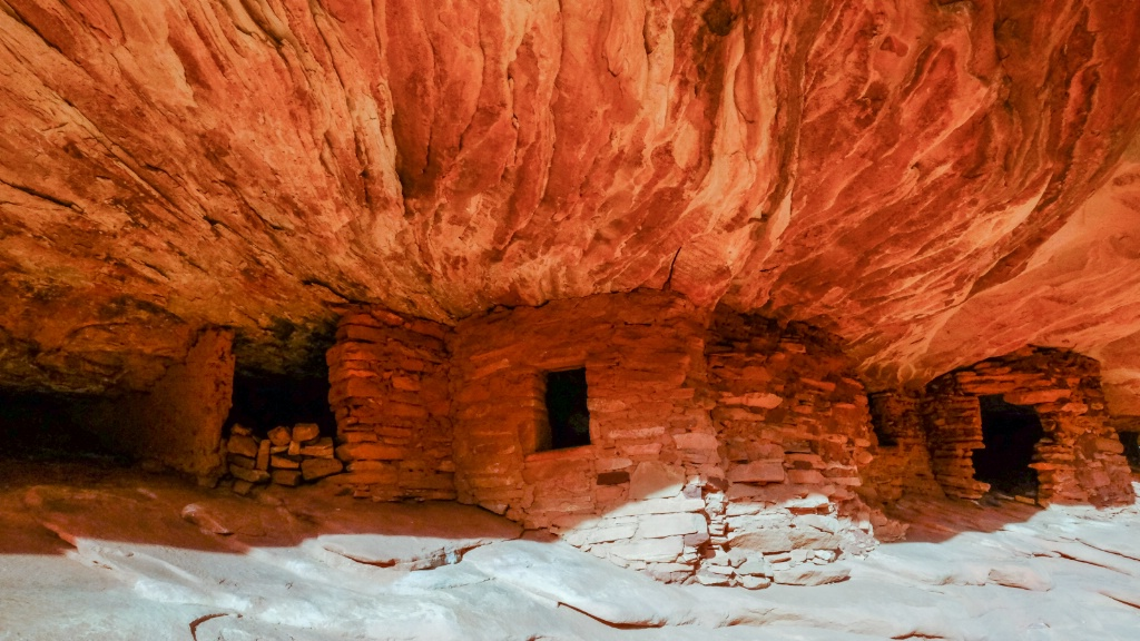 House of Fire Ruin, Mule Canyon