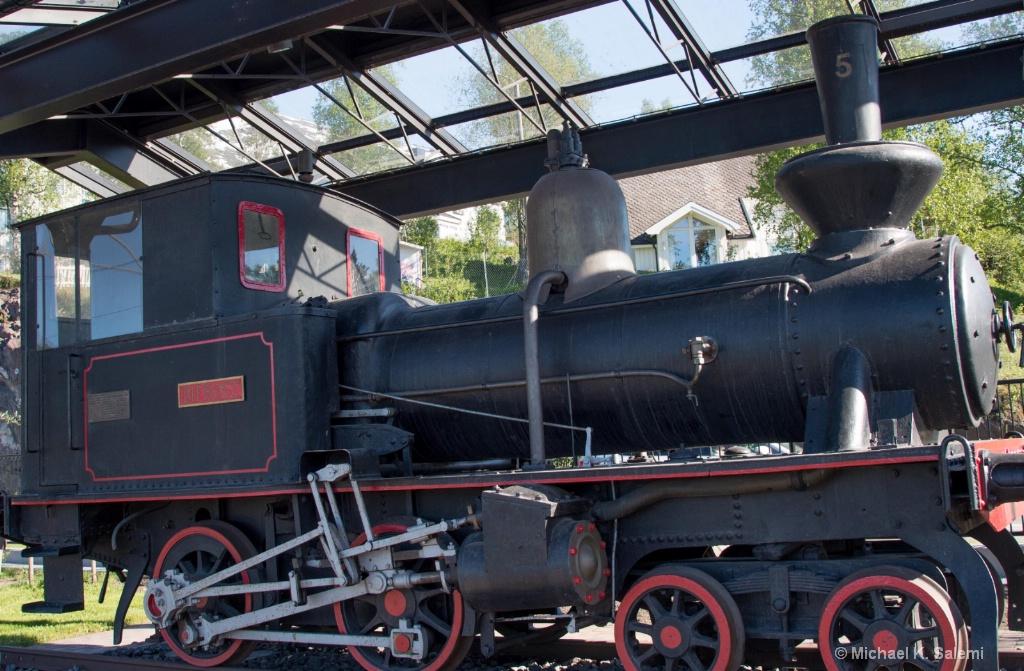 Locomotive at Gallivare Station