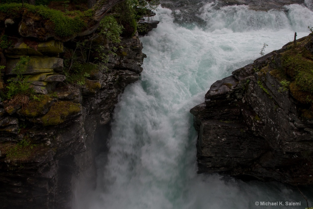 Enroute to Geiranger Fjord