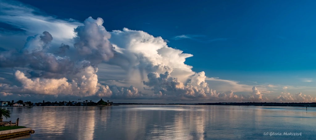 Post sunrise thunderstorm: Treasure Island, FL