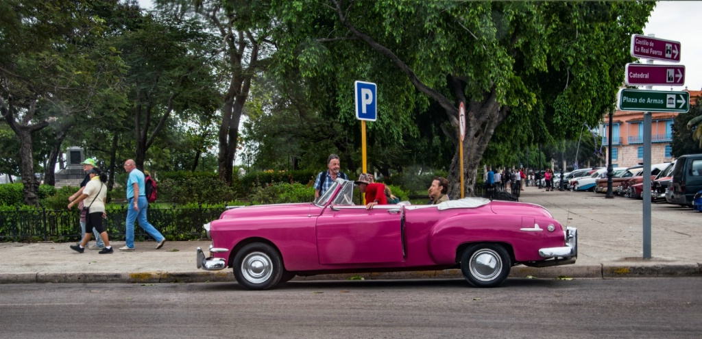 Now that's PINK! Havana, Cuba