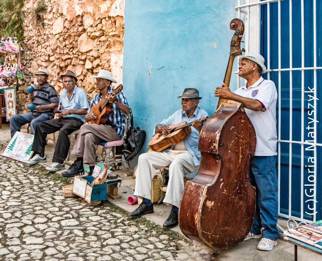 Street music everywhere. Trinidad, Cuba