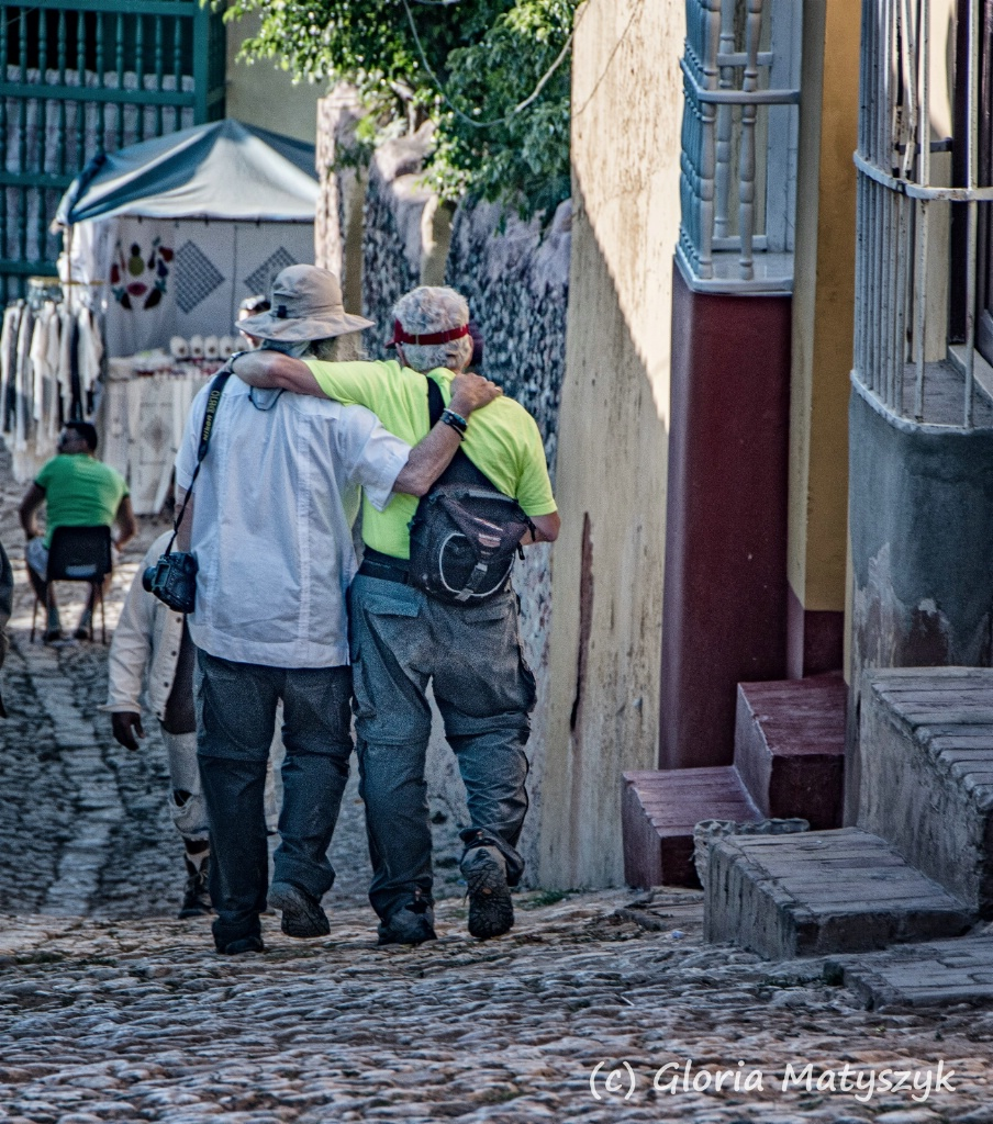 Just friends; Trinidad, Cuba