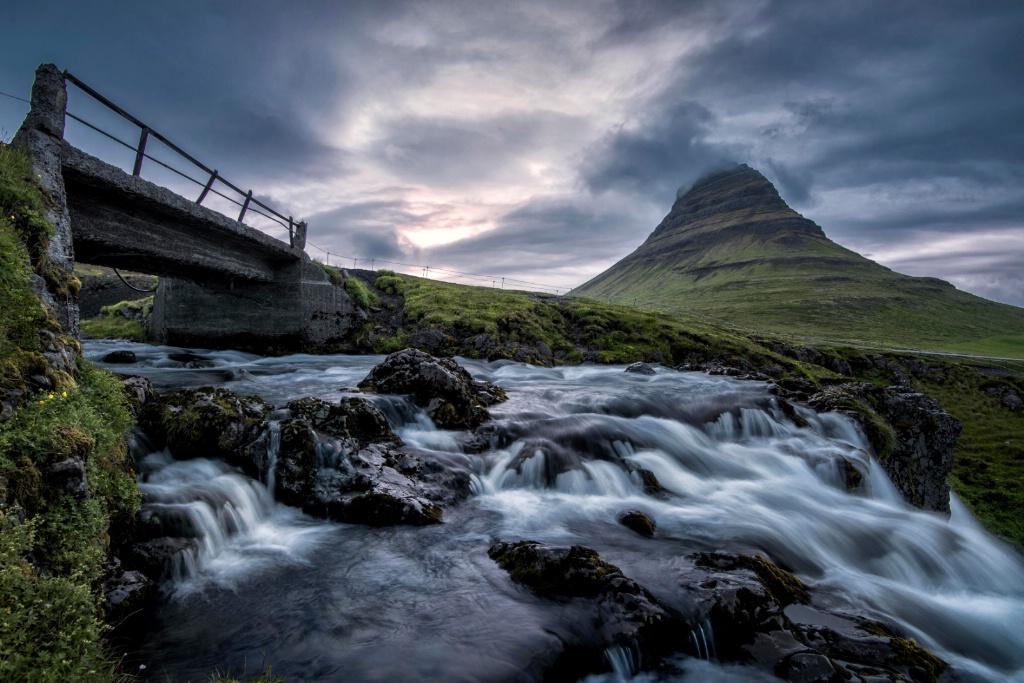 An Evening at Kirkjufellfoss