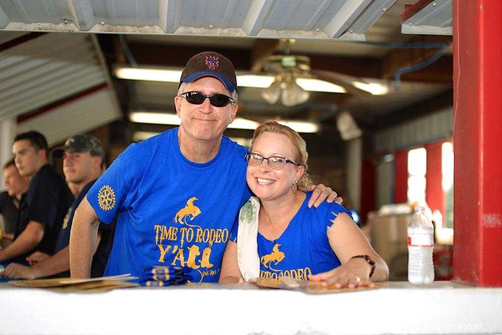 Chris and Kathy