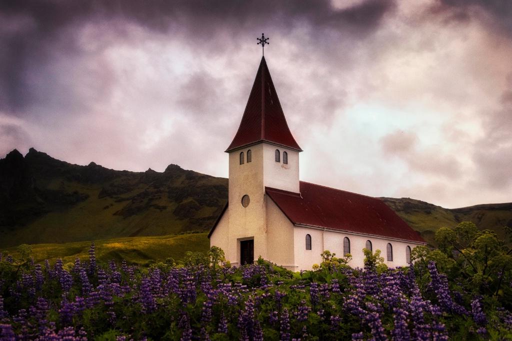The White Church of Vik