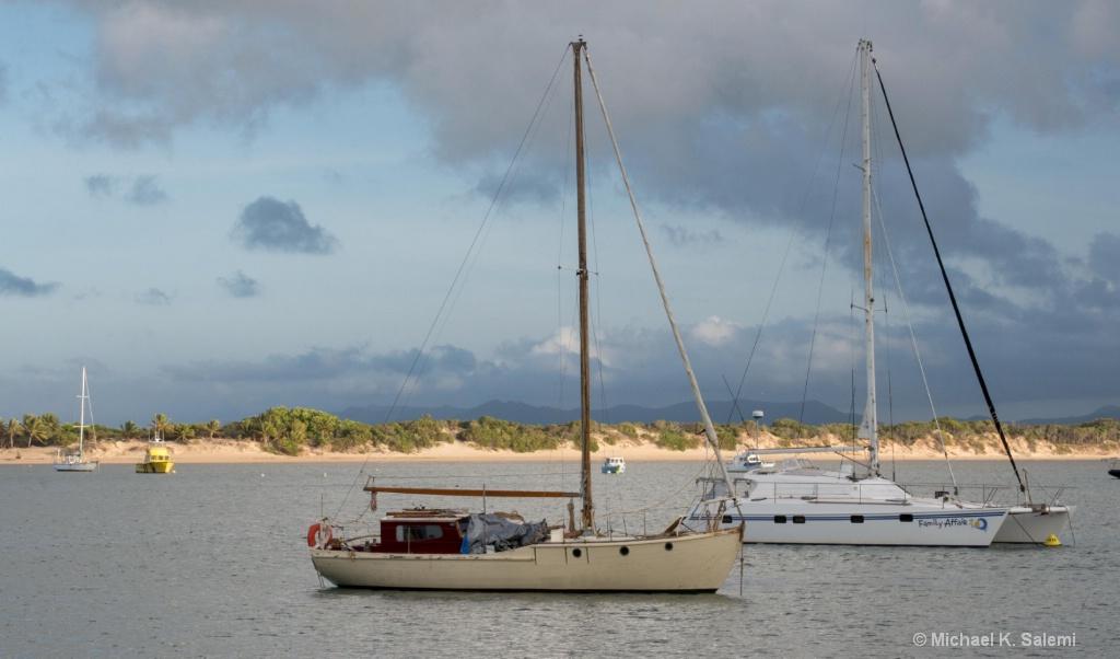 Cooktown Harbor Scene