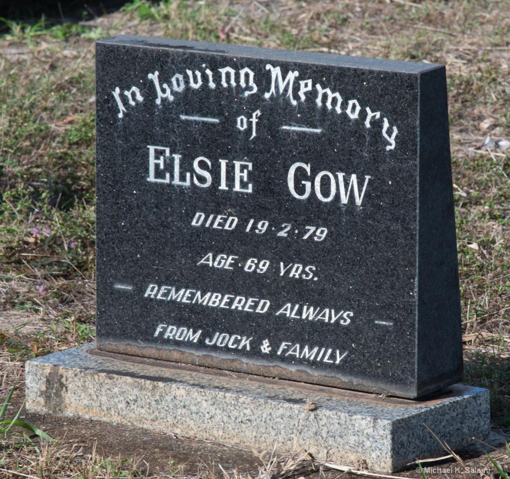 Where Borden's Buried Elsie