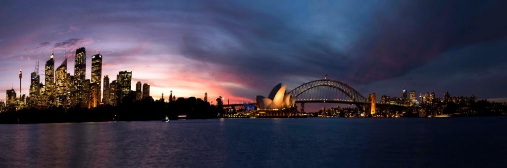 Sydney Panorama at Twilight
