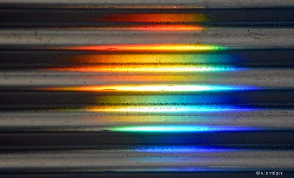 Spectrum on the Iron Wall