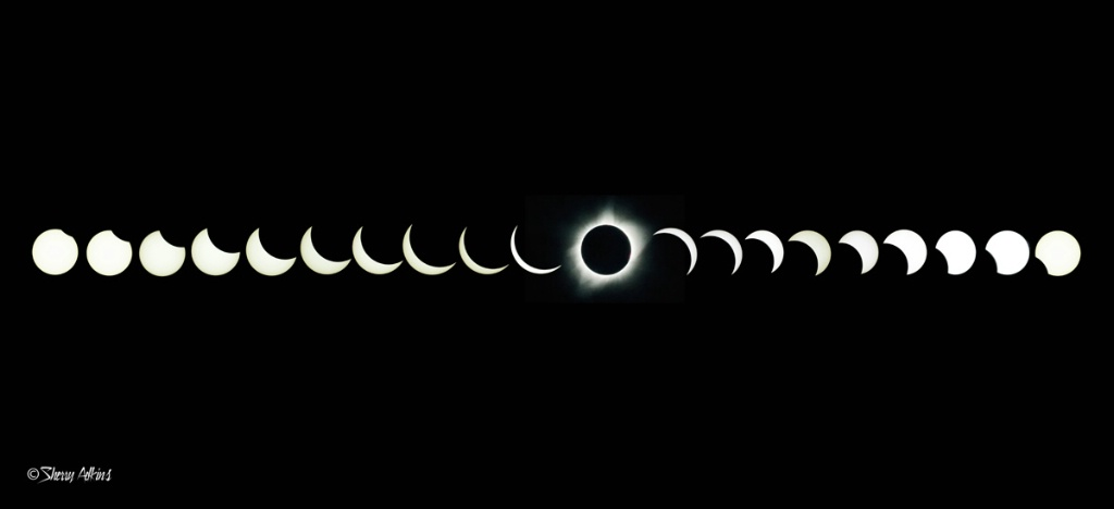 Solar Eclipse sequence