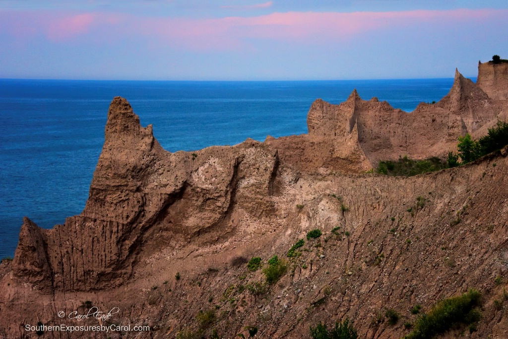Day's End at Chimney Bluffs