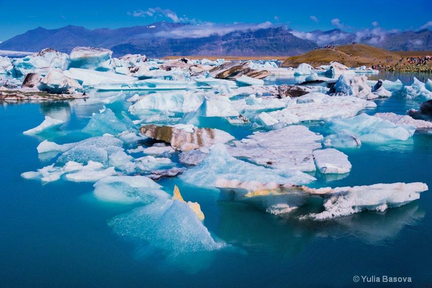 Jökulsárlón Glacier Lagoon<p>