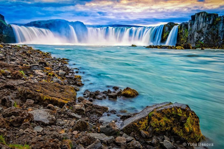 Gdafoss Waterfalls, Iceland